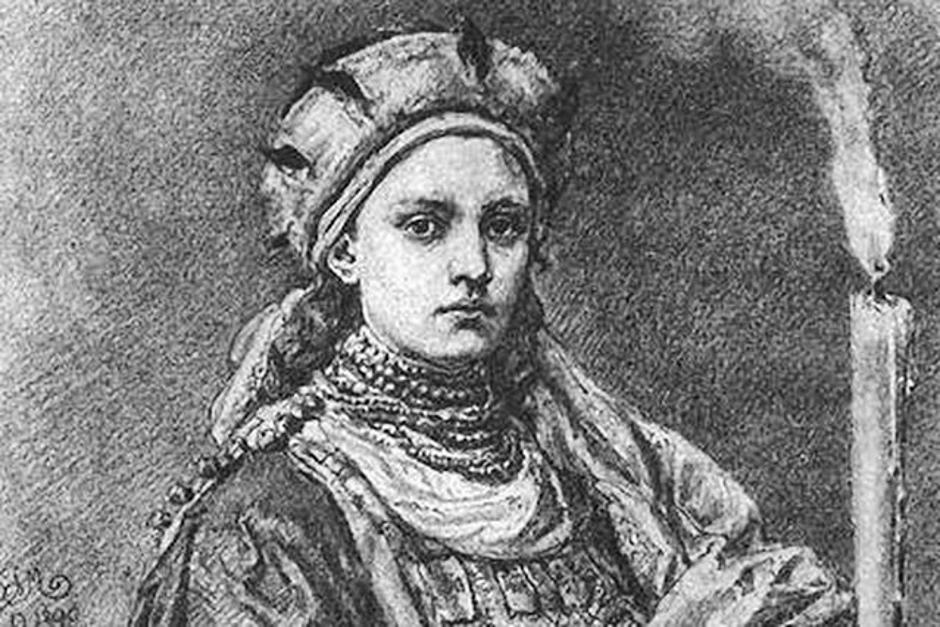 Dobrawa, żona Mieszka I. Poczet Jana Matejki. Chrzest Polski.