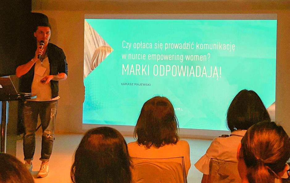 Łukasz Majewski, I Konferencja nt. Femvertisingu w Polsce