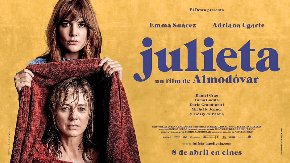 Julieta - plakat. Źródło zdjęcia: http://iris.theaureview.com/sydney-film-festival-review-julieta-spain-2016/